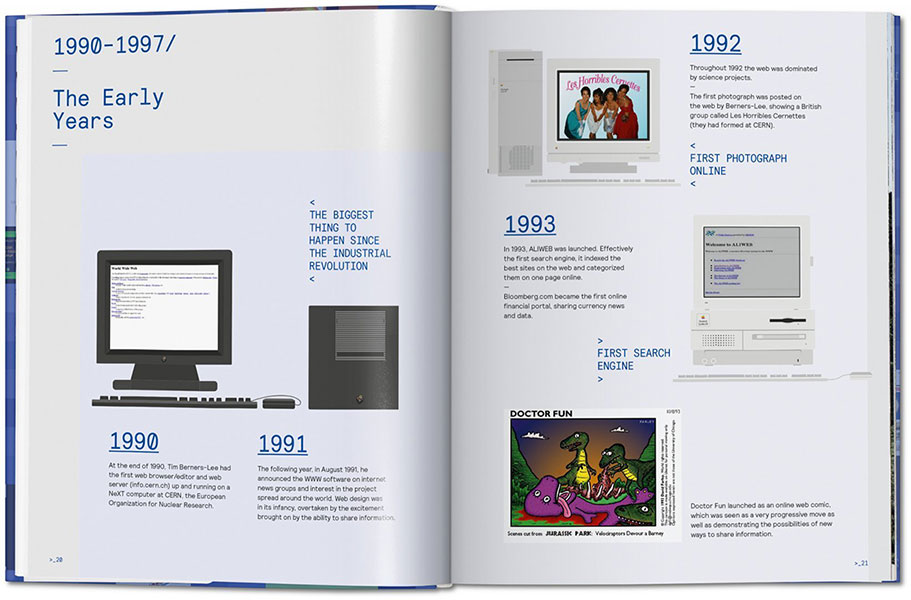 Web Design. The Evolution of the Digital World, 1990-Today: Páginas Interiores
