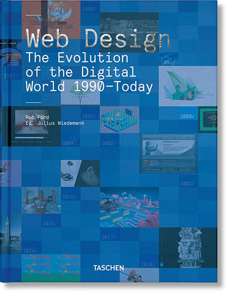 Web Design. The Evolution of the Digital World, 1990-Today: Portada